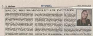 articolo Il Biellese del 31.05.2016